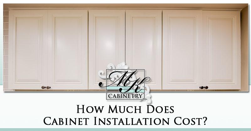 Cabinet Installation Cost 2020 Average Prices Mk