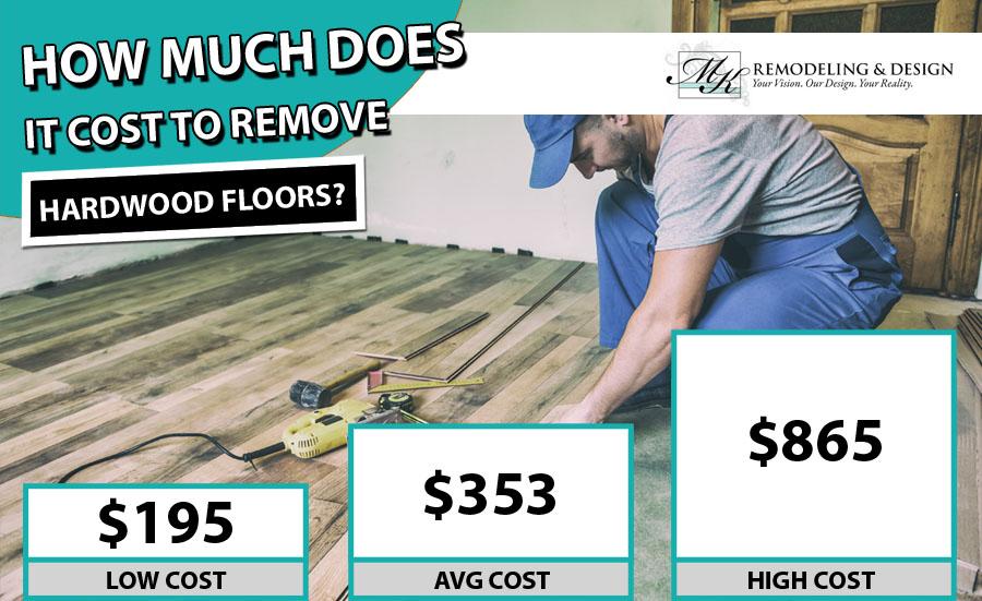 Cost to Remove Hardwood Floor